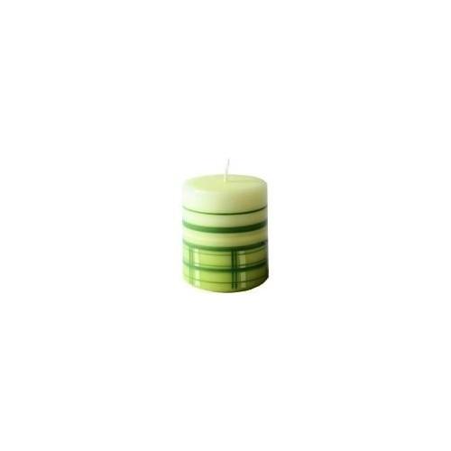 Svíčka Spirit Green - pillar 174g (60-70)