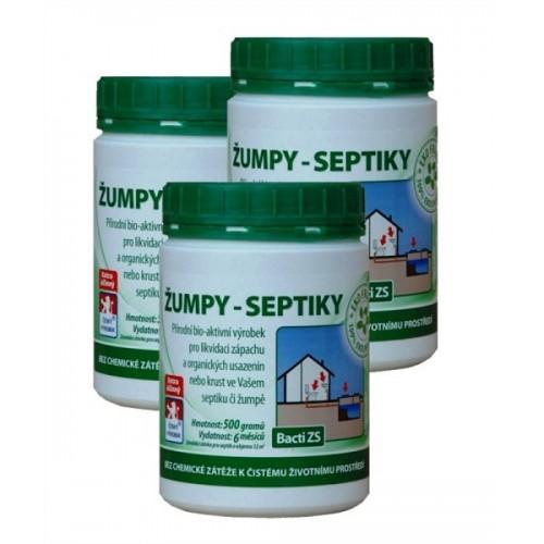 Baktoma Bacti ZS žumpy-septiky 3x500 g