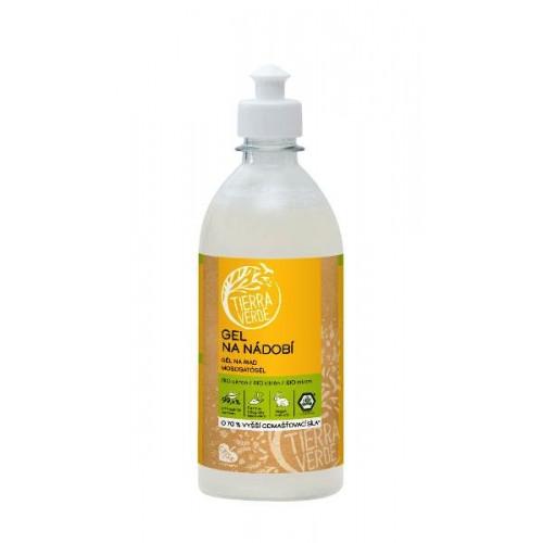 Tierra Verde Gel na nádobí s BIO citronovou silicí 500 ml